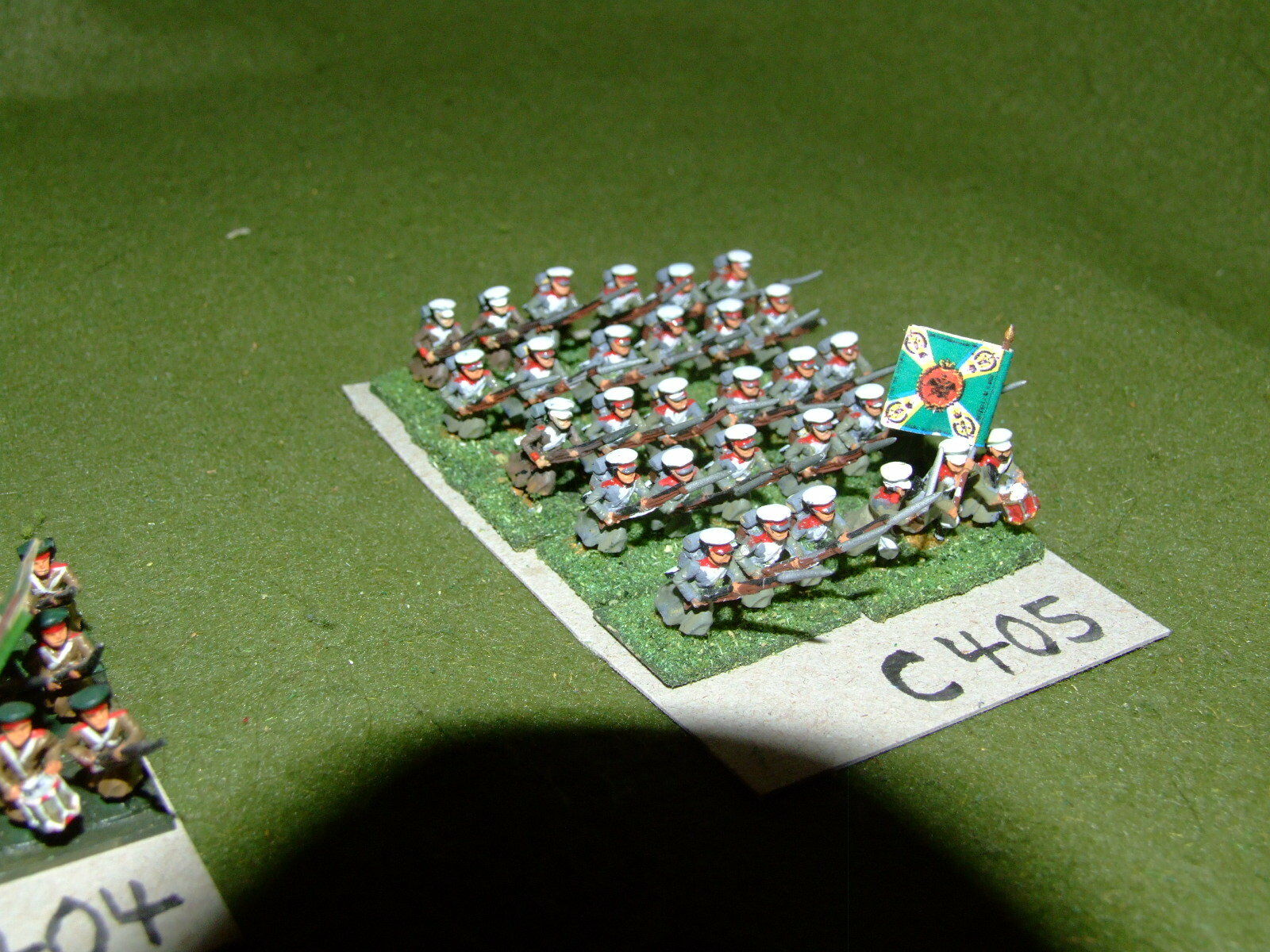 15mm 19th century   crimean - Russian 30 Infantry - inf (CL405)
