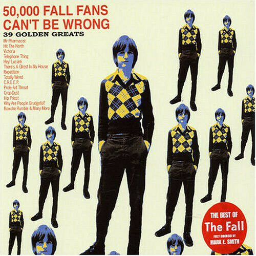 The Fall ‎– 50,000 Fall Fans Can't Be Wrong - 39 Golden Greats THE BEST OF / 2CD