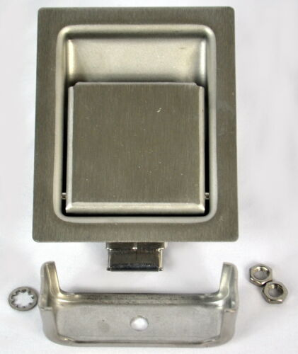 Southco 64-21-10 Flush Paddle Latch 2.81 L x 2.19 W Installation Hole Pack of 8