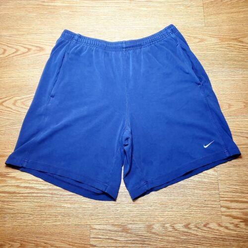 Nike Vintage Mens Sweatshorts Early Y2k Era Grey T