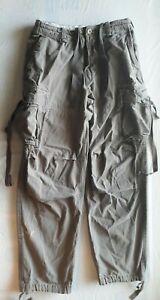 Arizona-Jean-Company-Men-039-s-Cargo-Pants-Size-32x34-Khaki-Jeans-with-6-Pockets