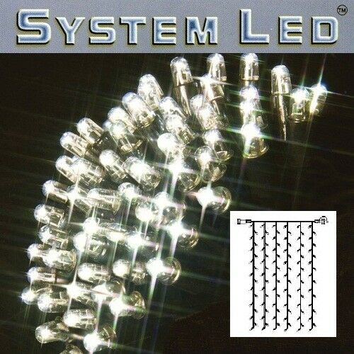 a buon mercato Sistema luci LED sipario extra 102er 1x2m Daylight Nero 465-57 465-57 465-57  prezzi eccellenti