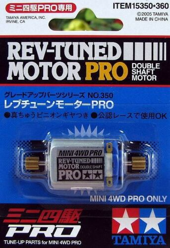 TAMIYA 15350 4WD MINI RACER MINI 4WD TUNE-UP PARTS REV-TUNED MOTOR PRO