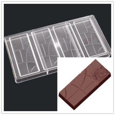 Heart in heart À faire soi-même Chocolat Moules clair en plastique dur en polycarbonate PC Moule