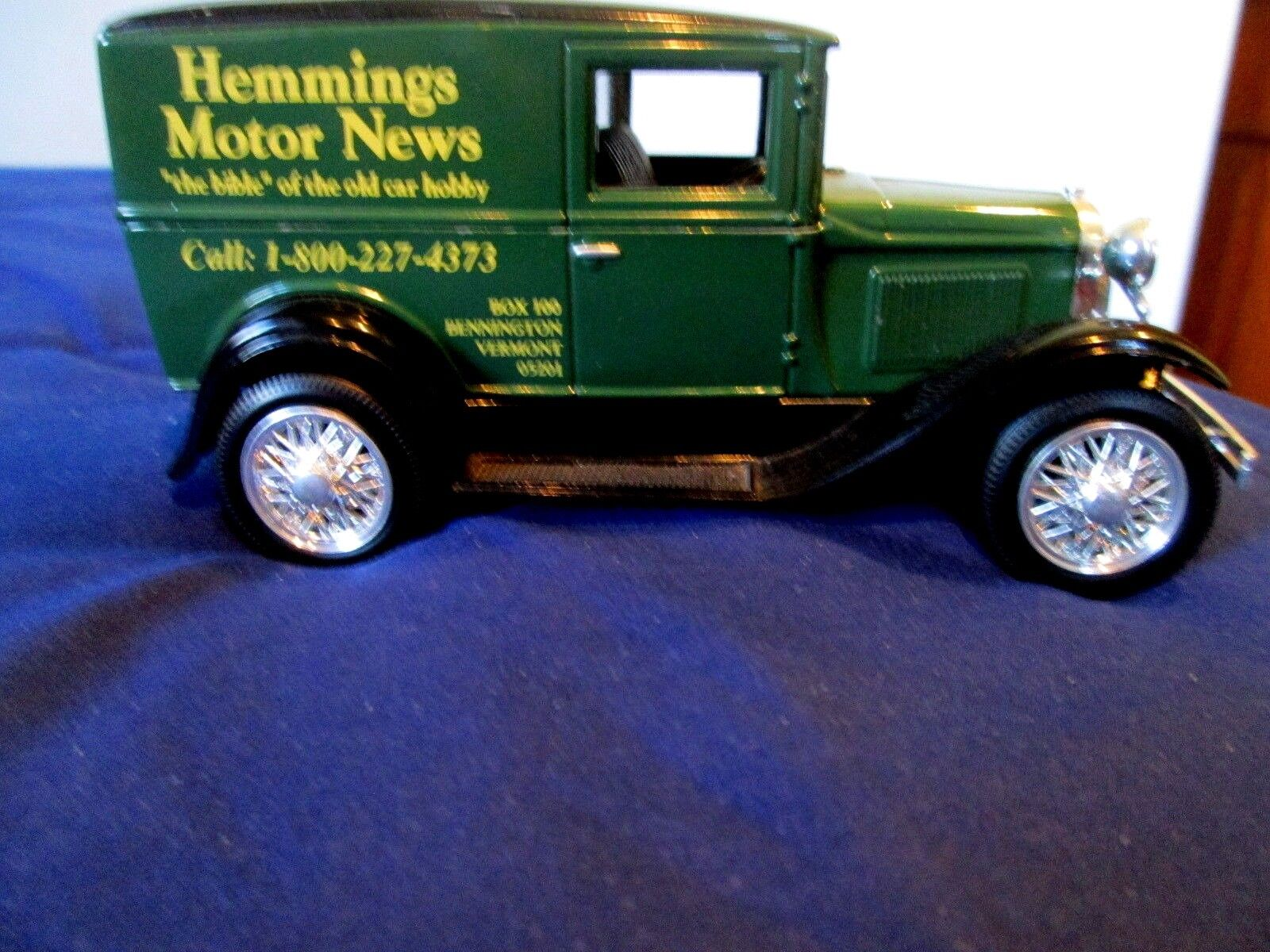 1931 FORD FORD FORD MODEL A DELIVERY VAN  - HEMMINGS MOTOR NEWS - 1 25 SCALE BY LIBERTY 9db3bb