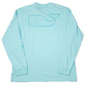 f9b5aa2916986c Vineyard Vines Men s Pool Side Blue Vintage Whale Graphic Pocket T ...