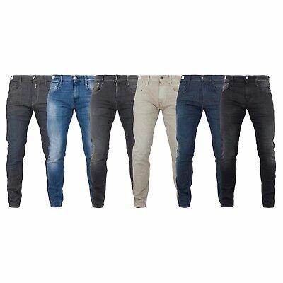 Replay jeans uomo ANBASS HYPERFLEX skinny M914
