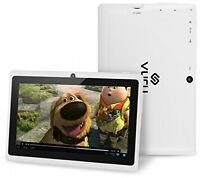Vuru A33 8gb Quad-core Touchscreen Android Tablet 7 Inch With Wi-fi - Runs Os -