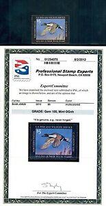 2012 Junior Duck Stamp JDS20 MNH GEM 100 PSE Certificate