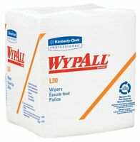 Kimberly-clark Wypall L30 Drc Wipers, 12 Length X 12-1/2 Width, White (12 Pa , on sale
