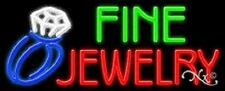 Brand New Fine Jewelry 32x13 Logo Real Neon Sign Withcustom Options 11400