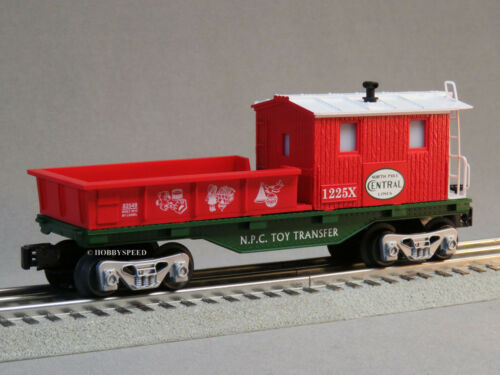 LIONEL NORTH POLE CENTRAL SANTA/'S HELPER WORK CABOOSE train car 6-82545-C NEW