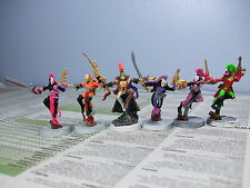6 Eldar Finecast Harlequins Warhammer 40,000 40k GW