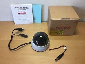 "Nouvelle Mode New - Ademco Video Camera - Fixed Mini Dome - 2"" Dome With Fixed Lenses"