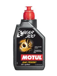1-LT-Olio-Motul-Cambio-Trasmissione-Gear-300-75W90-Sintetico-API-GL-4-GL-5