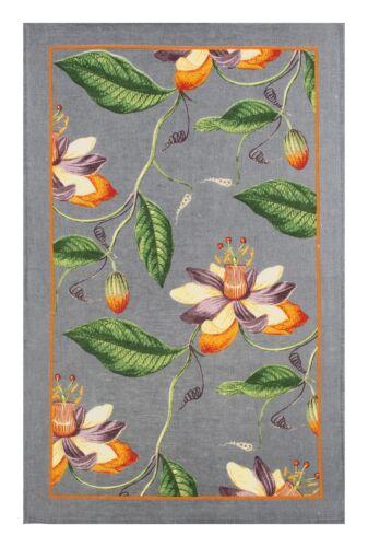 """/""""Rhs Passiflora/"""" pur lin imprimé Thé Serviette Ulster Weavers"""