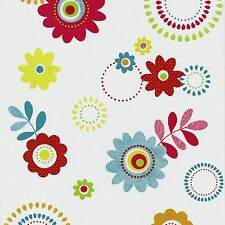 Tapete Floral bunt Tapeten P+S International X-treme Color 05560-20 (1,86€/1qm)