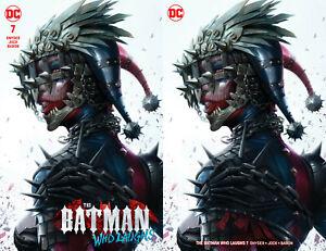 Batman-Who-Laughs-7-Francesco-Mattina-Harley-Quinn-Set-Variant-Dark-Nights-Metal