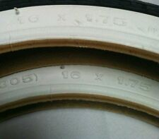 "WHITE WALL 20x1.75/"" LOWRIDER Bike bicycle tread TIRE Duro #258892 Schwinn S2 1"