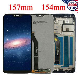 157mm 154mm Lcd Display Touch Screen Frame For Motorola Moto G7 Power Xt1955 5 Ebay