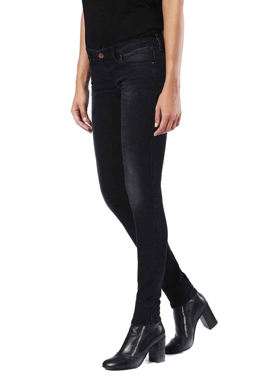 DIESEL SKINZEE-Low 0677g Donna Jeans Pantaloni skinny super super super slim 4c98c5