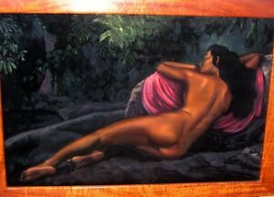 Hawaii-painting-vintage-Ralph-Burke-Tyree-QUALITY