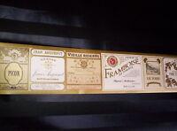 European Champagne / Liqueur Label Border 610