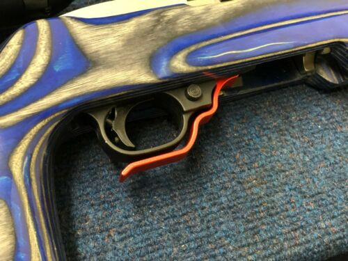 A.J CUSTOM Extended Magazine Release  FOR RUGER 10//22 BEST QUALITY red