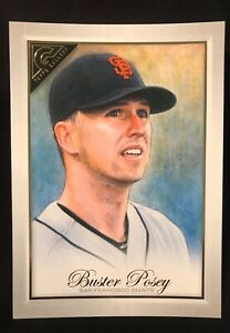 (LARGE) Buster Posey 2019 Topps Gallery (Oversized) Box Topper OBT-BP Giants
