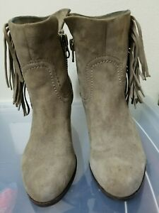3154be2e1aede6 Image is loading SAM-EDELMAN-039-Louie-039-Fringed-Western-Ankle-