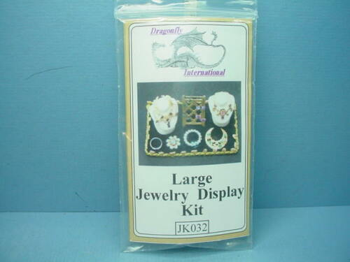 #JK032 Large Size  1//12 Scale Miniature Jewelry Display Kit Dragonfly Int/'l