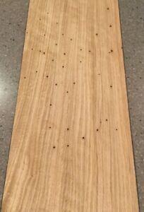 "41"" X 9.5"" 4 Sheets Rustic Maple Wood Veneer 10 Sq Ft"