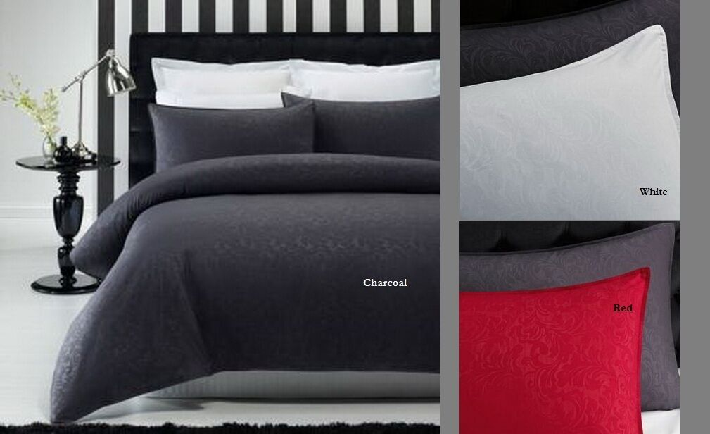 Phase 2 Cypress Embossed Quilt Doona Cover Set - SINGLE DOUBLE QUEEN KING
