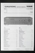 Grundig V 304 original Amplifier/AMPLIFICATORE Service-Manual/schema elettrico/diagram