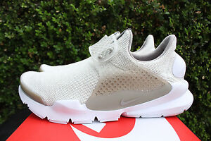 NIKE SOCK DART SE COBBLESTONE LIGHT OREWOOD WHITE KHAKI TAN 911404 100 SZ 11