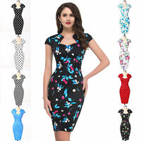 VINTAGE CHIC 50'S 60'S RETRO OFFICE PENCIL WIGGLE PIN UP DRESS S~XL