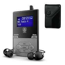 Portable Pocket Personal Handheld DAB+ DAB Digital FM Radio Rechargeable Battery