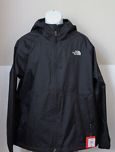 The North Face Men's Boreal Hooded Rain Jacket DryVent Black ...