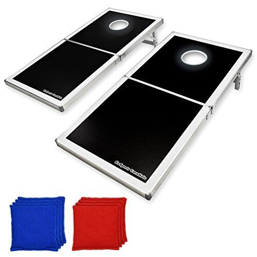 NEW GoSports LED Light  Up Cornhole Set Regulation Size FREE SHIPPING  check out the cheapest