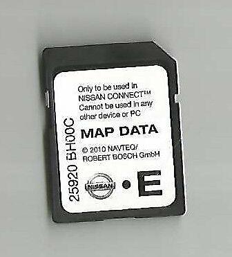 2010 Nissan Connect Lcn1 SD Card SAT NAV 25920 Bh00c Quashqai Juke MICRA  Note