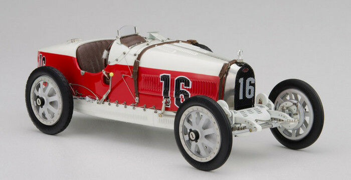 New CMC M-100-007 Bugatti T35, 1924 Nation Colour Project Series MONACO
