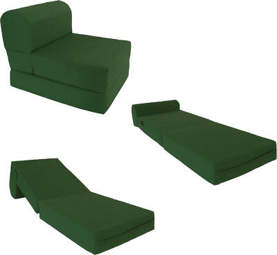 Hunter 6 X 24 X 70 Sleeper Chair Folding Foam Bed High Foam