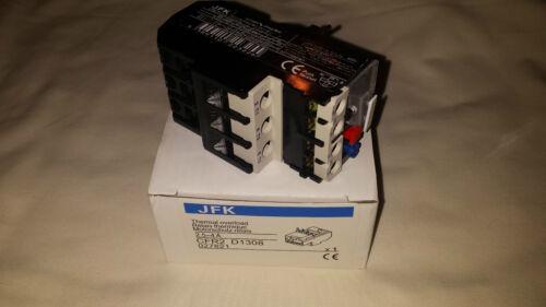Sobrecarga térmica relé para traje de DOL Starter Amplificador Rango De 1 A 18 Amp