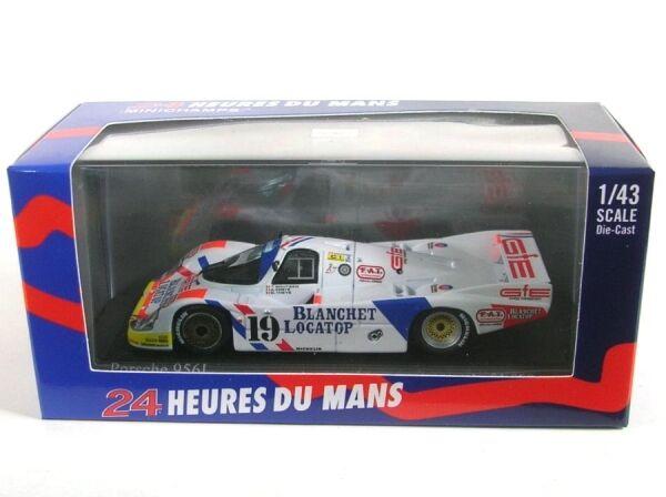 Porsche 956l 956l 956l whitehet Locatop No.19 Lemans 1986 (Boutsen - Theys - Ferte ) 0727ab