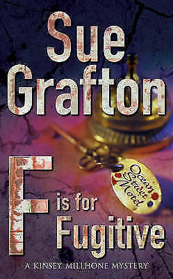 """""""AS NEW"""" F is for Fugitive (Kinsey Millhone), Grafton, Sue, Book"""