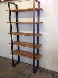 Details About Metal Legs Sides For Steel Shelving Unit Custom Sizes Wooden Shelves By Stoaked