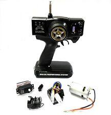T27AM2E Remote Control RC Transmitter 2 Channel Receiver 27mhz AM + Servo + ESC