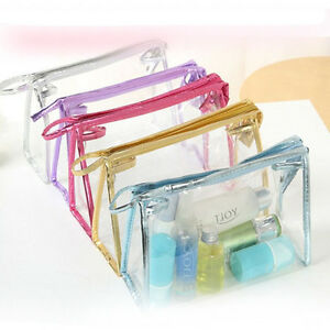 Transparent-Cosmetic-Bag-Clear-Plastic-PVC-Travel-Cosmetic-Make-Up-Toiletry-Bag