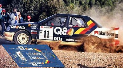 Calcas Ford Sierra RS Cosworth Rally Llanes 1988  decals Sainz