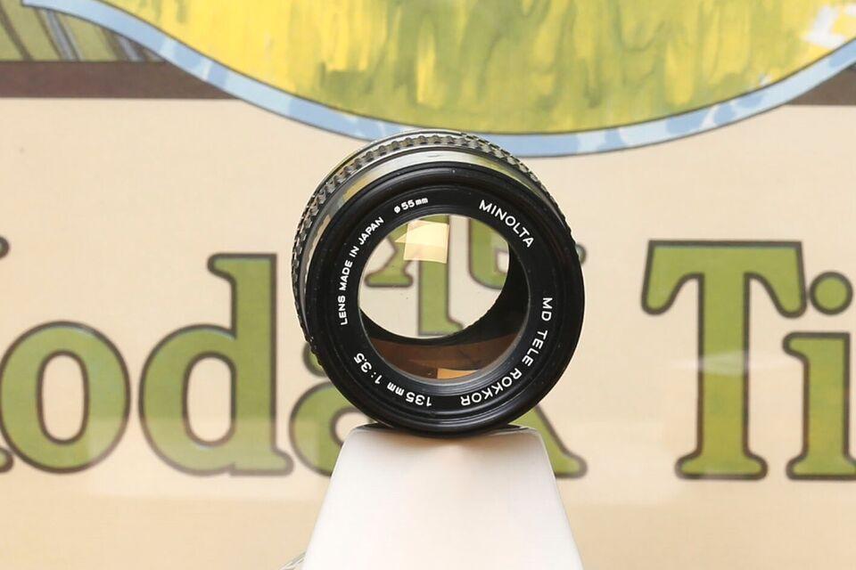 Tele, Minolta, 135 mm 3,5